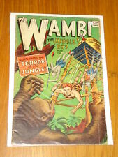 WAMBI THE JUNGLE BOY #8 G (2.0) IW SUPER COMICS 1964