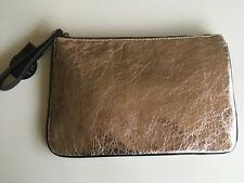 Rose Gold wristlet bag envelope pouch laptop bag new BNTW