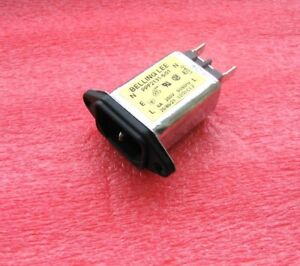 BELLING LEE 6A / 250V IEC RFI/EMC MAINS INPUT FILTER, WITH TRANSIENT PROTECTION