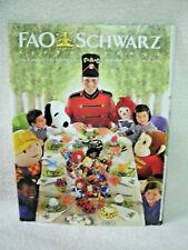 FAO Schwarz 2002 Holiday-- Toy Catalog -- Christmas Toys--Original