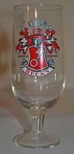 BECK'S Fluted Beer Glass Germany Barware Man Cave Decor
