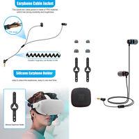 In-Ear Kopfhörer Headset Kabel für Oculus Quest 2 All-In-One VR Gaming Brille