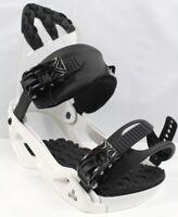 Salomon Rhythm Snowboard Bindings Medium White (US Men's 7-9.5) New 2020