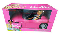 Barbie Doll And Convertible Car New