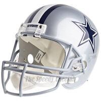 DALLAS COWBOYS RIDDELL VSR4 NFL FULL SIZE REPLICA FOOTBALL HELMET
