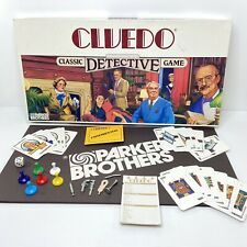 Vintage 1986 CLUEDO Parker Brothers Board Game - 100% Complete - Good Condition