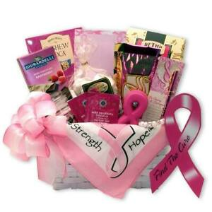 Find a Cure Breast Cancer Gift Basket/