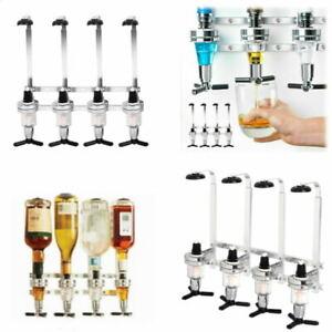 Bar 4 Bottle Stand Wall Mount Bracket for Optics Measures Spirit Drink Dispenser