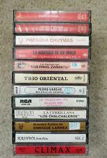 Bolivia Cassette Tape Lot 12 Peru South America Latin Rare