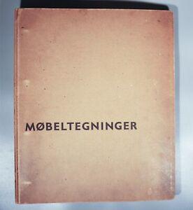 Mobeltegninger  line drawn danish furniture book Finn Juhl Hans Wegner 1950