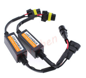 9005 LED Headlight Canbus Error Free Anti Flicker Resistor Canceller Decoders