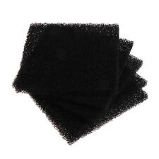 5Pcs Universal Activated Carbon Foam Sponge Air Filter Impregnated Sheet Pad