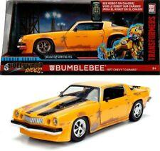 Transformers Bumblebee 1977 Chevy Camaro Chevrolet Diecast 1:24 Jada