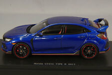 1 43 EBBRO MMP Honda Civic Type R FK8 Prototype Blue 2017 #.45575