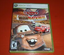 Cars: Mater-National Championship (Microsoft Xbox 360, 2007) -Complete