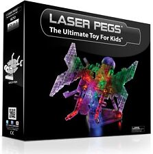 Laser Pegs 12-in-1 Butterfly Building Set - Ages 8-14 - LED Electronic Power Toy