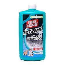 Solución Simple Extreme Champú Alfombra para Mascota Gato Perro Manchas & Olores - 1 litros
