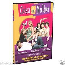 DVD Coisa de Mulher [ Adriane Galisteu ] [Subtitles English+Spanish+Portuguese]