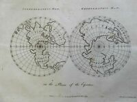 Northern Hemisphere River of the West Equatorial Plan 1783 Woodman & Mutlow map