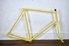 1983 RALEIGH 63CM VINTAGE LUGGED STEEL ROAD BICYCLE FRAME, NEWLY POWDERCOATED