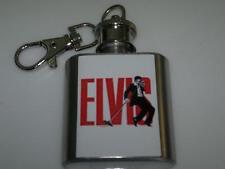 Elvis Presley The King Hip Flask 1oz Key Ring Rock Music Concert