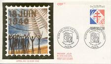 ENVELOPPE 1 er jour CHARLES DE GAULLE APPEL 18 JUIN 1940 1990