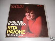 "RITA PAVONE "" AHI,AHI RAGAZZO -MARIA LUISA "" ITALY'70"