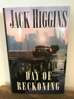 Day of Reckoning by Jack Higgins (2000, Hardcover)
