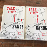 Talk With Your Hands Volumes 1 And 2 David Watson 1964 HCDJ