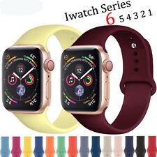 Reloj Banda Correa De Silicona Para APPLE IWATCH serie 6 5 4 3 2 1 38/40 mm se 42/44mm