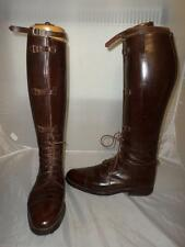 *Bespoke H E RANDALL GLASGOW field/coaching boots -Strap & Buckle Laced -UK 8*
