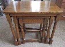 Vintage 3 Nesting solid OAK tables