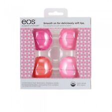 Eos Limited Edition Lip Balm Set of 4 Flavors (pack of 3)
