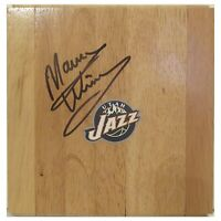 Marvin Williams Utah Jazz Autograph Signed Basketball Floor Board Exact Proof
