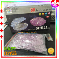 3D Crystal Shell Puzzles Jigsaw DIY Accessories Decoration Educational Toy Gift