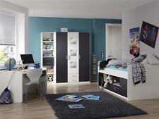 Jugendzimmer Rocco 4-teilig Kleiderschrank Jugendbett Schreibtisch 109630