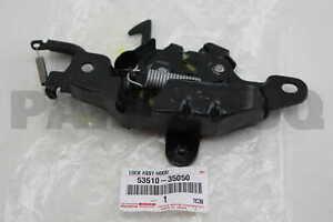 5351035050 Genuine Toyota LOCK ASSY, HOOD 53510-35050