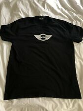 Official Mini Cooper Logo Black Shirt Large