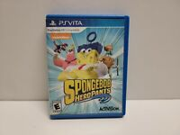 SpongeBob HeroPants (Sony PlayStation Vita, 2015) with Original Case TESTED