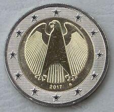 2 Euro Kursmünze Deutschland 2017 G unz.