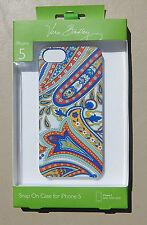 "New Original Vera Bradley iPhone 5 Snap-On Case/Cover in ""Marina Paisley"" RV $30"