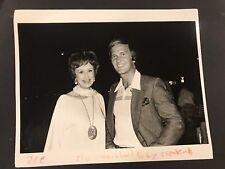 Vintage 8x10 Original  Photo Pat Boone, Ruth Warrick 1977