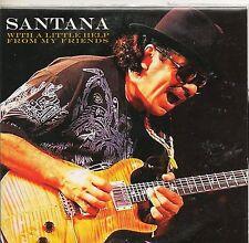 CD CARTONNE 8T SANTANA   WITH A LITTLE HELP FROM MY   DE 2006  NEUF NON  SCELLE