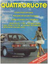 QUATTRORUOTE 5/1987 LAND ROVER 90 TD – LANCIA PRISMA 1.3/ 1.5/ 1.6 – CITROEN AX