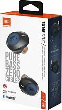 JBL TUNE 120TWS True Wireless In-Ear Bluetooth Headphones with Microphone - Blue