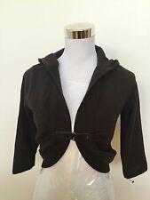 Sabatini   Bolero   Size Small   Leather + Wool RRP $220