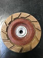 """EdgeMaxx 5"""" Coarse Ceramic Cup Wheel Replacement by SASE for Concrete Polishing"""