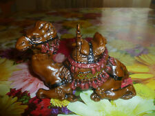 Cold Painted Bronze Inkwell 'Bedouin Camel' by Franz Bergman foundry  Signed.