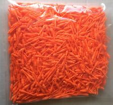 1000 Magic Dimple Dart Tips Standard Orange w/ FREE Shipping