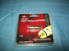 Gun Laser Trainer Cartridge Bullet .45 ACP Laserlyte Target Practice Save Ammo